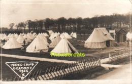 IEPER FOTOKAART DUITS KAMP 1925 ** YPRES CARTE DE PHOTO CAMP  ALLEMAGNE  ** REAL PHOTO CAMP YPRES GERMANY 1925 - Ieper