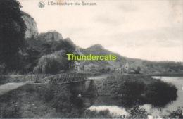 CPA  L'EMBOUCHURE DU SAMSON - Andenne
