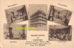CPA HEYST SUR MER GRAND HOTEL DE L'UNIVERS  HEIST - Heist