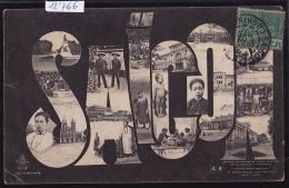 Cochinchine : Saïgon En Multivues ; Timbre Indochine Française - 1906 (12´766) - Viêt-Nam