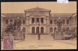 Cochinchine : Saïgon - Palais De Justice ; Timbre Indochine Française - Ca 1900 (12´769) - Viêt-Nam