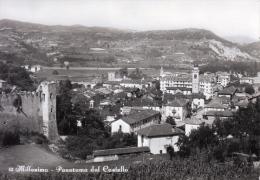 MILLESIMO SAVONA PANORAMA DAL CASTELLO- VG 1958 X CAIRO MONTENOTTE- ORIGINALE D´EPOCA 100% - Savona