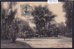 Cochinchine : Saïgon - à L'entrée Du Jardin Botanique - Pousse-pousse ; Timbre Indochine Française - 1911 (12´771) - Viêt-Nam