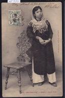 Cochinchine : Saïgon - Jeune Fille ; Timbre Indochine Française - 1910 (12´774) - Viêt-Nam