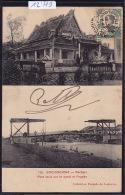 Cochinchine : Rachgia - Pont Levis Sur Le Canal Et Pagode - Ca 1911 (12´779) - Viêt-Nam