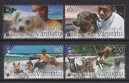VANUATU - 2013 - Chiens - 4v Neufs // Mnh - Vanuatu (1980-...)