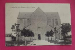 Cp Romilly Sur Seine  L Eglise - Romilly-sur-Seine