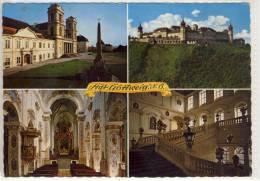Stift GÖTTWEIG, N.Ö. - Gem. FURTH - Stiftskirche, Barocke Fasade, Inneres Der Stiftskirche, Hochaltar ..... - Altri
