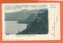 HB428, Remi, Provincia Di Roma, 648, Précurseur, Circulée 1901 - Italia