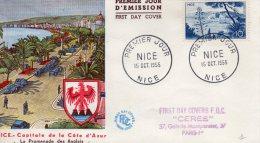 NICE, 06 : Premier Jour 1955 Capitale De La Côte D´Azur - Unclassified