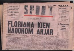 MALTA - (  SPORTS ) FULL NEWS PAPER /   1971 - Books, Magazines, Comics