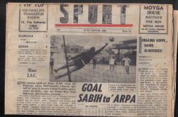 MALTA - (  SPORTS ) FULL NEWS PAPER /   1968 - Books, Magazines, Comics