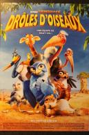 MINI AFFICHE.21X30.CINEMA.FILM :DROLES D'OISEAUX - Posters