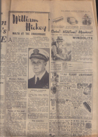 DAILY EXPRESS  NEWS PAPER / PAGES 3/4.5/6/  - 1953 - Books, Magazines, Comics