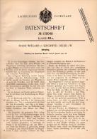 Original Patentschrift - Franz Wiegard In Oelde I.W., 1902 , Kehrpflug , Landwirtschaft , Agrar , Pflug , Kirchspiel !!! - Maschinen