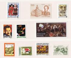 1986  Commémoratifs Divers    Neufs Sans Charnière ** MNH - Hongrie