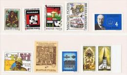 1987  Commémoratifs Divers    Neufs Sans Charnière ** MNH - Hongrie
