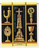 1987  Trésor De La Cathédrale D'Esztergom  Bloc Feuillet  Neufs Sans Charnière ** MNH - Hongrie