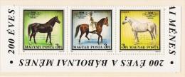 1989  Ferme D'élevage Des Chevaux Bande De 3   Neufs Sans Charnière ** MNH - Nuovi