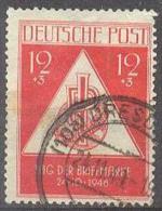 1948 Tag Der Briefmarke Mi 228 / Sc 10NB3 / YT 31 Gestempelt / Oblitere / Used - Zone Soviétique