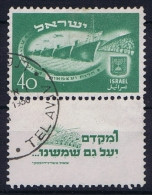 Israel: 1950 Mi 31 CV 220 Euro, Used - Used Stamps (with Tabs)