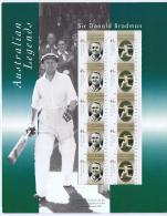 Australia 2001 Souvenir Pack, Sir Donald Bradman, Australian Legends
