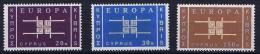 Cyprus 1963 Europa Cept Mi 225-227 MNH/**