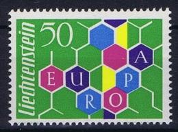Liechtenstein 1960 Europa Cept Mi 398 MNH/** - Liechtenstein