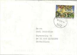Österreich 1997 Mautern >> Bayreuth (D) - 1945-.... 2ème République