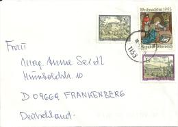 Österreich 1993 Wien >> Frankenberg (D) - 1945-.... 2ème République