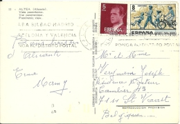Espana 1979 Calpe Alicante >> St Vaast (B) / Europa Cept - 1931-Aujourd'hui: II. République - ....Juan Carlos I