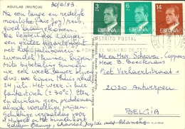 Espana 1983 Aguilas Murcia >> Antwerpen (B) - 1931-Aujourd'hui: II. République - ....Juan Carlos I