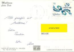 Espana 1999 Palma De Mallorca >> Oudenaarde (B) - 1931-Aujourd'hui: II. République - ....Juan Carlos I