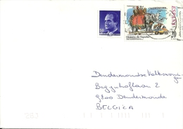 Espana 2000 CCP Colon Barcelona >> Dendermonde (B) / Hannibal Eléphant Olifant Elephant - 1931-Aujourd'hui: II. République - ....Juan Carlos I