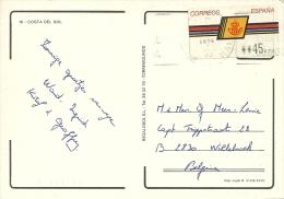 Espana Machin Label >> Willebroek (B) - 1931-Aujourd'hui: II. République - ....Juan Carlos I