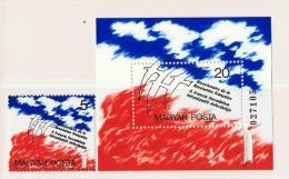 1988  Bicentenaire De La Révolution Française  Timbre Et Bloc Feuillet  ** Neufs Sans Charnière - Hungary