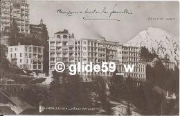 LEYSIN - Hôtel Belvédère - N° J. J. 4098 - VD Vaud