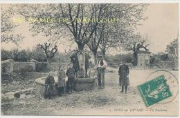 30 --- FONS SUR LUSSAN   La Fontaine   ANIMEE - France