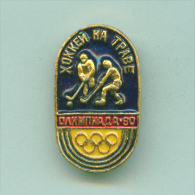 Olympic Pin -  Field Hockey Pin Moscow 80 Olympic Games - Olympic Games