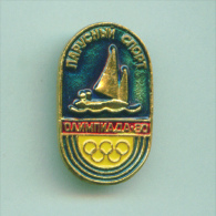 Olympic Pin -  Sport Pin USSR Sailing Event Moscow '80 Olympic Games - Olympic Games