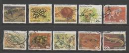 """Australia   1982   """"REPTILES""""    VFU    (0) - 1980-89 Elizabeth II"""