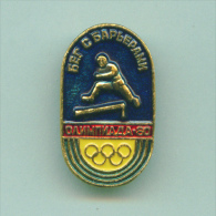 Olympic Pin -  Fencing Pin Badge USSR Moscow '80 Olympic Games - Olympic Games