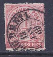 North German Confederation, Scott # 4 Used Numeral, 1868 - North German Conf.