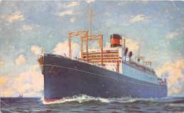 5436  S.S. President Coolidge    Dollar Steamship Line, - Steamers
