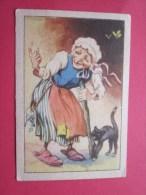 KOLLNFLOCKEN SIND VOLLKORNFLOCKEN GRIMMS MARCHEN  Bild 4  Série Allemande > Contes De Grimm Allemagne Chromo Image - Sonstige