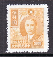 Taiwan  64    * - 1888 Provincia China