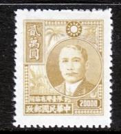 Taiwan  66    * - 1888 Chinese Province