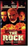 VHS Video  ,  The Rock - Entscheidung Auf Alcatraz   -  Mit : Michael Biehn John C. Mcginleyvon - Action & Abenteuer