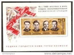 RUSSIA - 1969 SOYUZ S/S MNH *** - 1923-1991 USSR