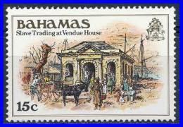 BAHAMAS 1980 BLACK HERITAGE - SLAVE TRADING SC# 469 MNH (D0134) - Bahamas (...-1973)